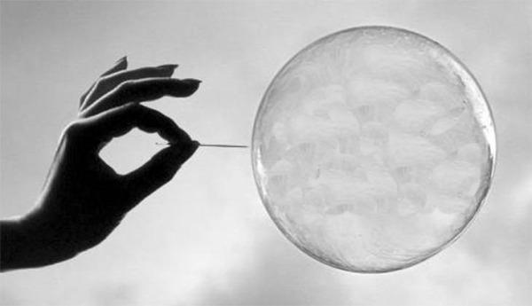 bubble-burst